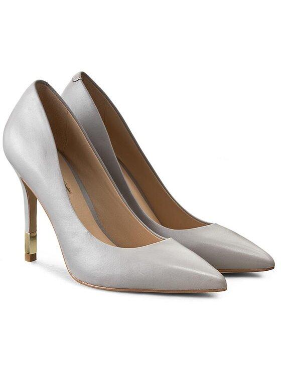 Guess Guess Обувки на ток Bayan5 FLBAY1 LEA08 Сив