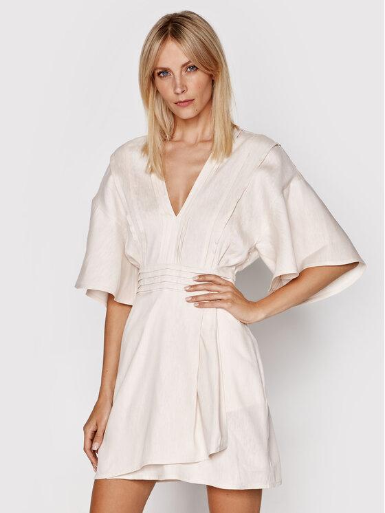 IRO Kasdieninė suknelė Aika A0491 Smėlio Regular Fit