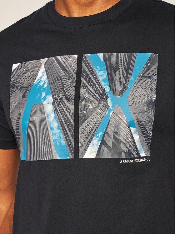 Armani Exchange Armani Exchange T-Shirt 6HZTLB ZJH4Z 1583 Tmavomodrá Regular Fit