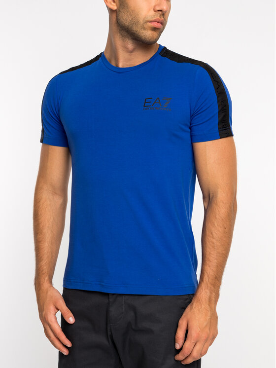 EA7 Emporio Armani EA7 Emporio Armani T-Shirt 3GPT07 PJ03Z 1582 Μπλε Regular Fit