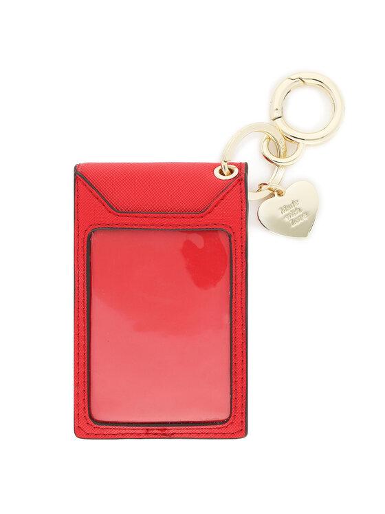 Guess Guess Etui na karty kredytowe Not Coordinated Keyrings RW8381 P0201 Czerwony