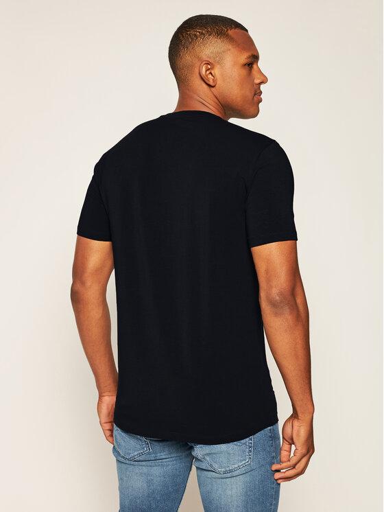 Armani Exchange Armani Exchange T-Shirt 8NZT84 Z8M9Z 05AU Tmavomodrá Slim Fit