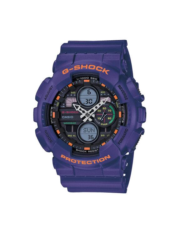 G-Shock Laikrodis GA-140-6AER Violetinė