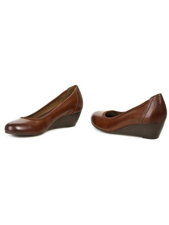 Tamaris Tamaris Κλειστά παπούτσια 1-22320-21/25 Καφέ