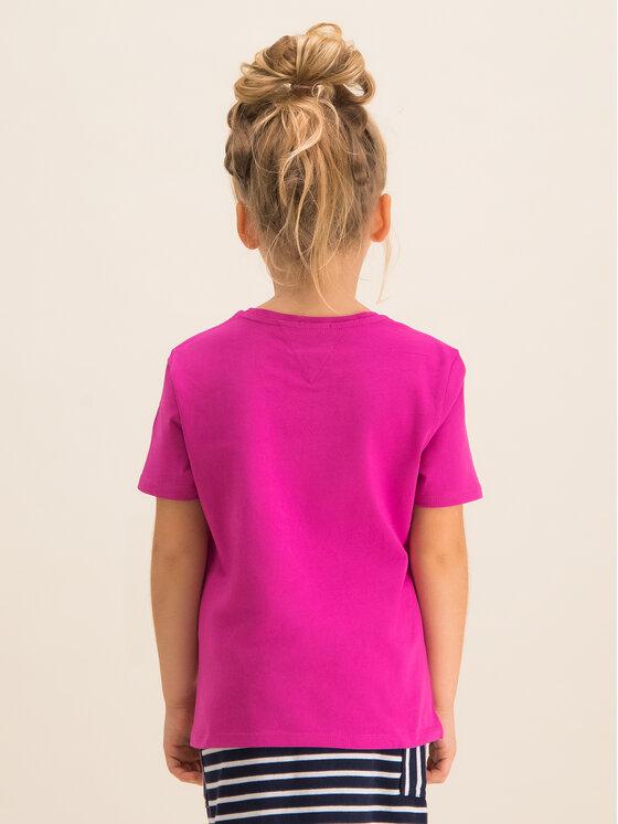Tommy Hilfiger Tommy Hilfiger T-shirt KG0KG04465 Rosa Regular Fit