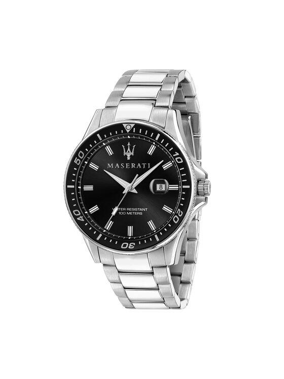 Maserati Laikrodis Sfida R8853140002 Sidabrinė