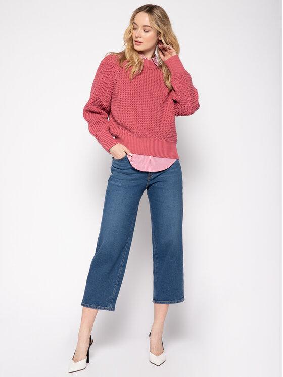 Pepe Jeans Pepe Jeans Пуловер Vania PL701569 Розов Regular Fit