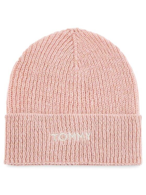 Tommy Hilfiger Tommy Hilfiger Σκούφος Effortless Knit Bean AW0AW05950 Ροζ