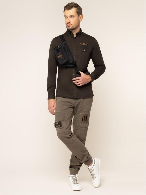 Tommy Jeans Tommy Jeans Текстилни панталони DM0DM06518 Кафяв Slim Fit