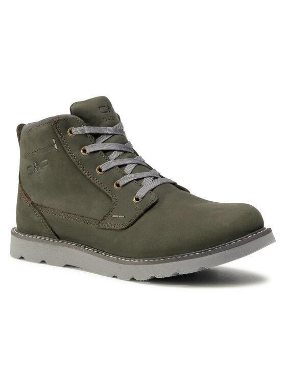 CMP Auliniai batai Hadir Lifestyle Shoe Wp 38Q4537 Žalia