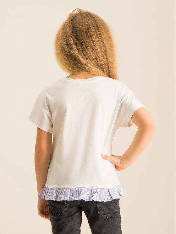 Primigi Primigi T-Shirt Free Spirt 43222531 Biały Regular Fit