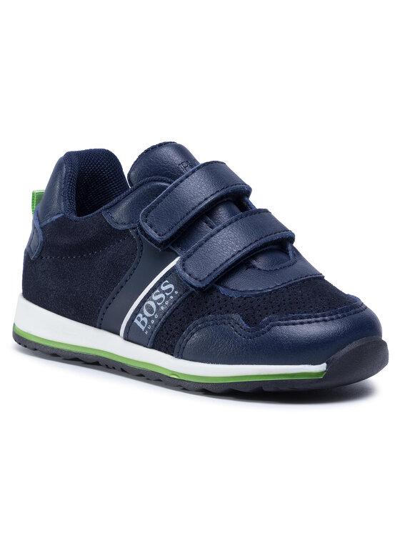 Boss Boss Sneakersy J09139 S Granatowy