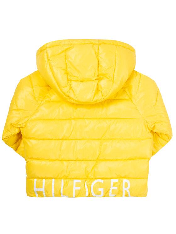 Tommy Hilfiger Tommy Hilfiger Vatovaná bunda High Shine Puffer KG0KG04596 Žltá Regular Fit
