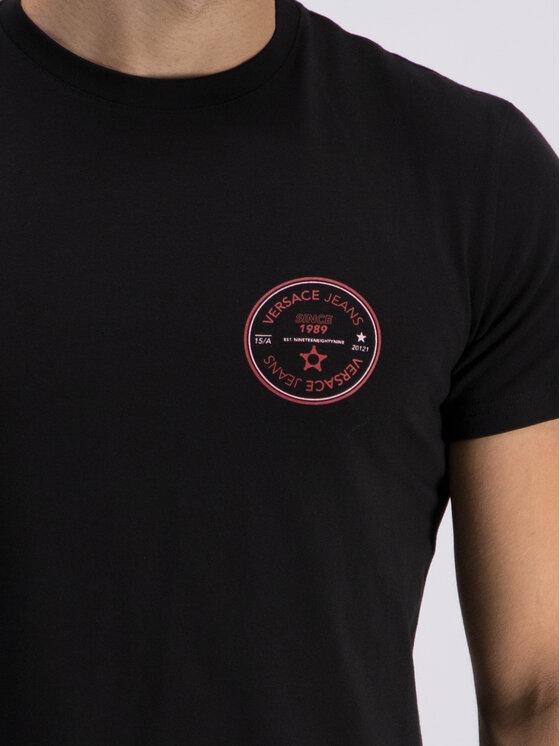 Versace Jeans Versace Jeans T-shirt B3GTB76S Noir Slim Fit