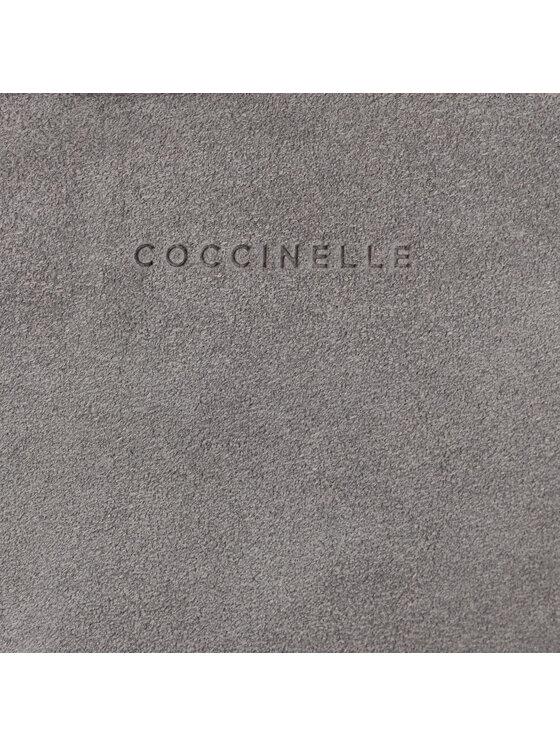 Coccinelle Coccinelle Torebka ES6 Alpha Suede E1 ES6 15 02 01 Szary