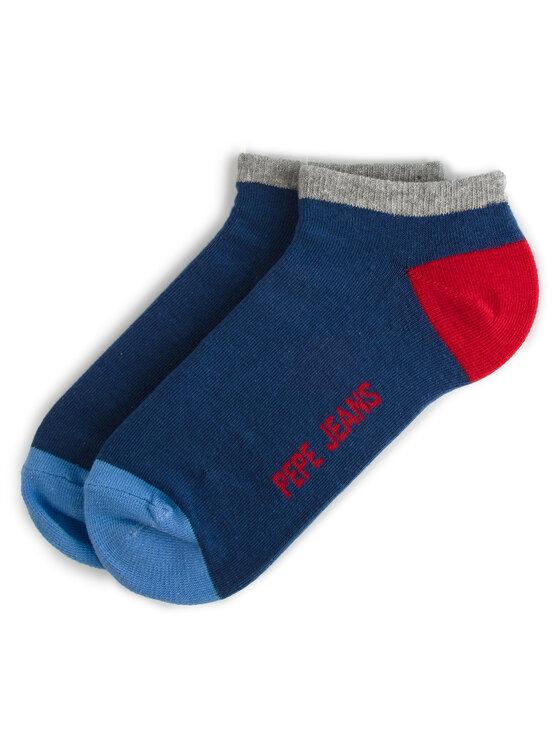 Pepe Jeans Pepe Jeans Σετ 3 ζευγάρια κοντές κάλτσες unisex Elmo PMU10482 Σκούρο μπλε
