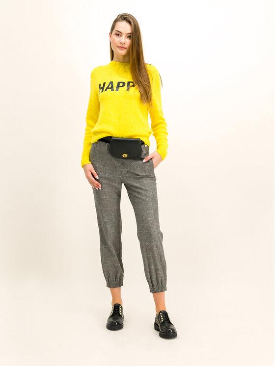 TWINSET TWINSET Текстилни панталони 192TT2441 Сив Regular Fit