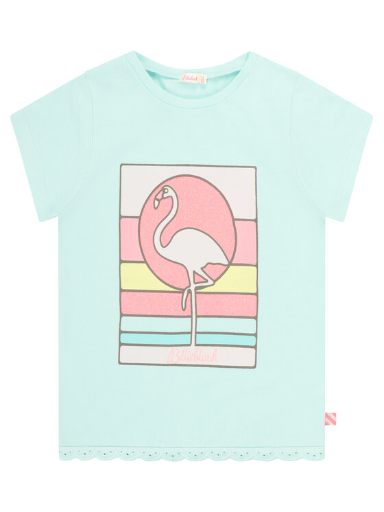 Billieblush Billieblush T-Shirt U15724 Niebieski Regular Fit