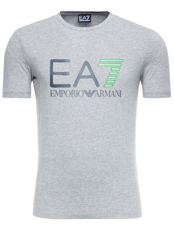EA7 Emporio Armani EA7 Emporio Armani Póló 3GPT01 PJ03Z 3905 Szürke Regular Fit