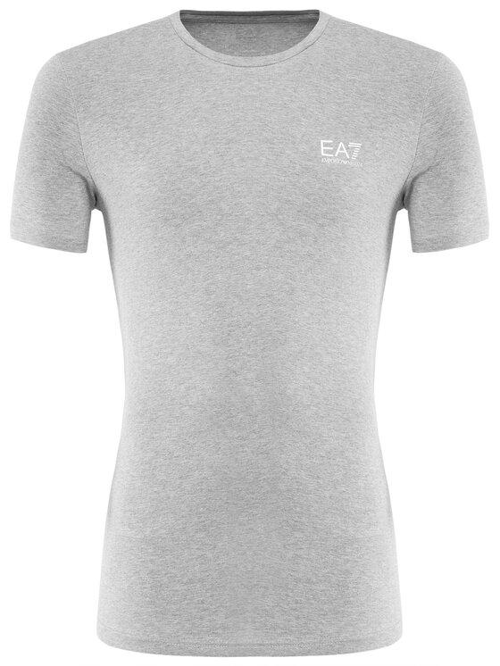 EA7 Emporio Armani EA7 Emporio Armani T-Shirt 3GPT52 PJM5Z 3905 Šedá Regular Fit