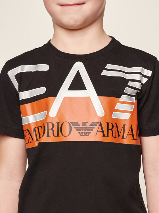 EA7 Emporio Armani EA7 Emporio Armani Póló 6GBT55 BJ02Z 1200 Fekete Regular Fit