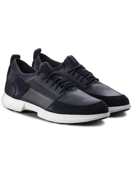 Geox Geox Sneakers U Traccia A U823RA 08522 C4002 Blu scuro