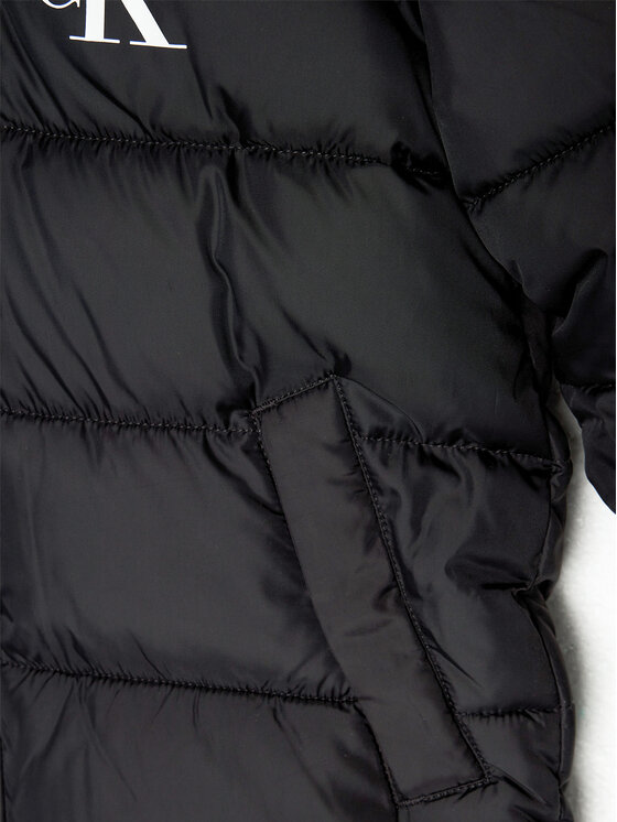 Calvin Klein Jeans Calvin Klein Jeans Kurtka puchowa Essential IG0IG00594 Czarny Regular Fit