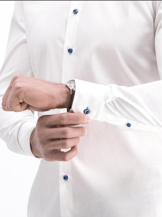 Joop! Joop! Košile 30014749 Bílá Slim Fit