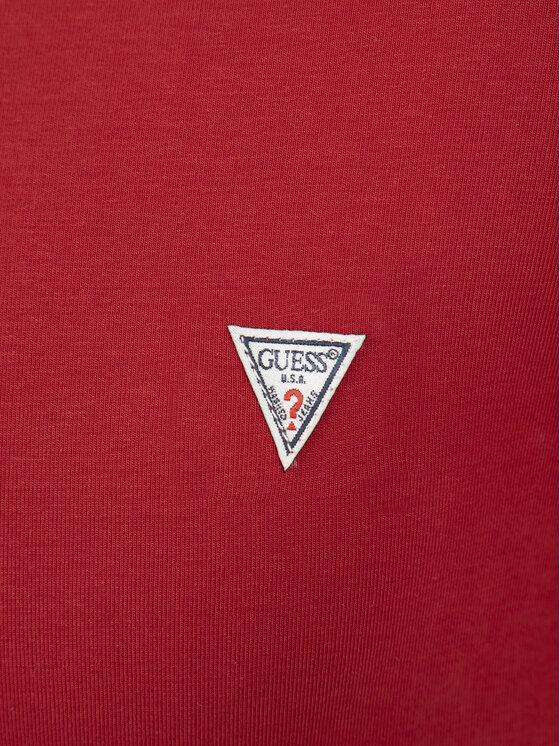 Guess Guess T-shirt M92I08 J1300 Rouge Super Slim Fit