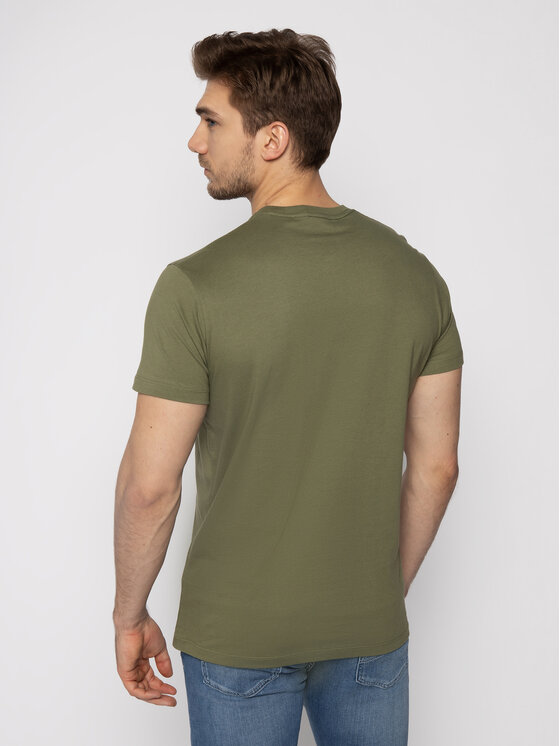 Pepe Jeans Pepe Jeans T-shirt Eggo PM500465 Vert Regular Fit