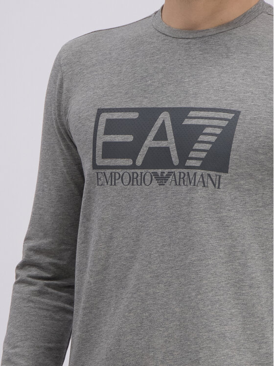 EA7 Emporio Armani EA7 Emporio Armani Longsleeve 3GPT64 PJ03Z 3905 Szary Regular Fit