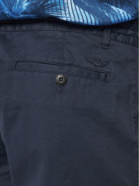 Aeronautica Militare Aeronautica Militare Pantaloncini di tessuto 201BE082CT2601 Blu scuro Regular Fit