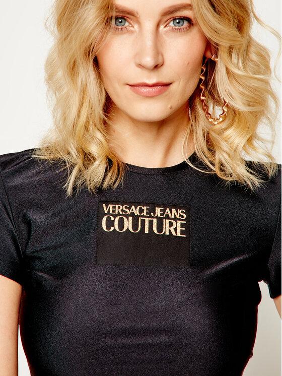 Versace Jeans Couture Versace Jeans Couture T-Shirt B2HVA719 Černá Slim Fit