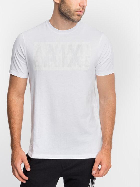 Armani Exchange Armani Exchange T-Shirt 6GZTEU ZJH4Z Weiß Regular Fit