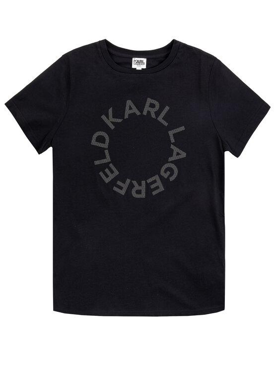 KARL LAGERFELD KARL LAGERFELD T-Shirt Z25203 Schwarz Regular Fit