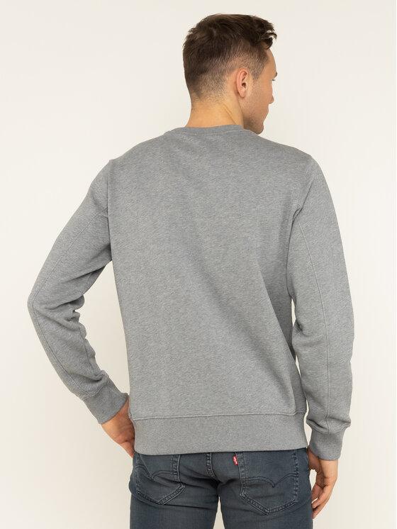 Calvin Klein Jeans Calvin Klein Jeans Džemperis Through Monogram J30J314127 Pilka Regular Fit