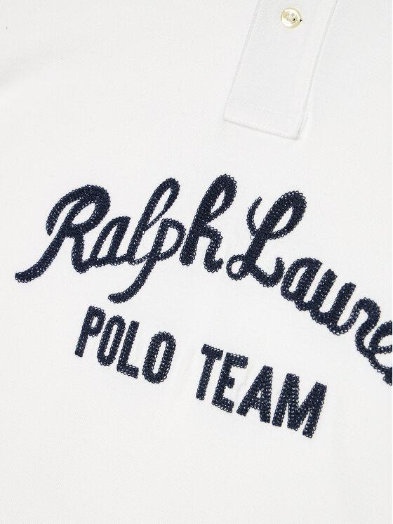 Polo Ralph Lauren Polo Ralph Lauren Polo Ss Kc 323836607001 Biały Regular Fit