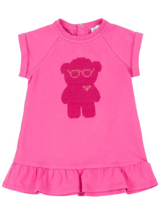 Emporio Armani Emporio Armani Každodenné šaty 3HEA20 4JCKZ 0309 Ružová Regular Fit