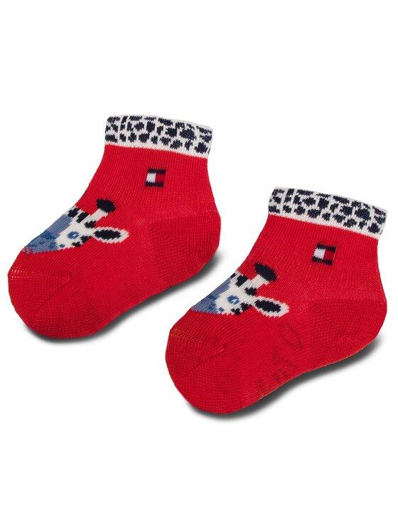 Tommy Hilfiger Tommy Hilfiger Sada 3 párů dětských vysokých ponožek 395006001 Tmavomodrá