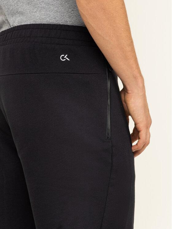 Calvin Klein Performance Calvin Klein Performance Medžiaginiai šortai 00GMF9S865 Juoda Regular Fit