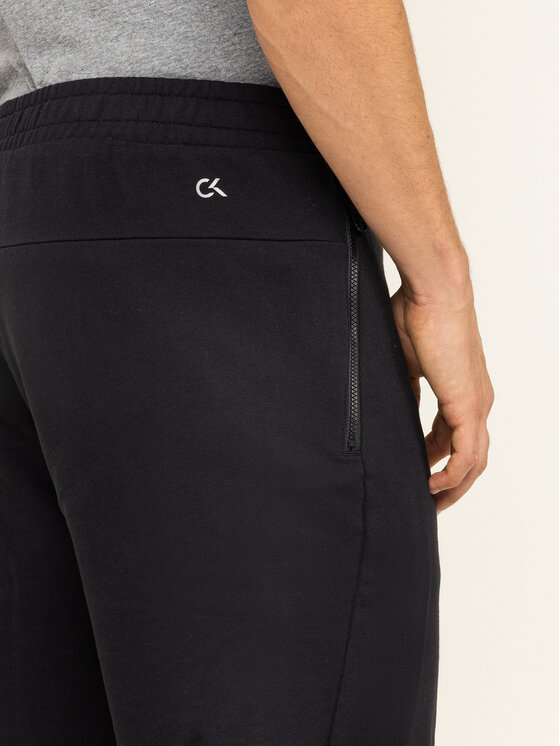 Calvin Klein Performance Calvin Klein Performance Szövet rövidnadrág 00GMF9S865 Fekete Regular Fit