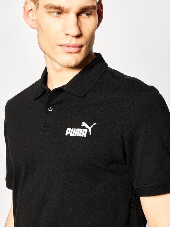 Puma Puma Polo Ess Pique 851759 Nero Regular Fit