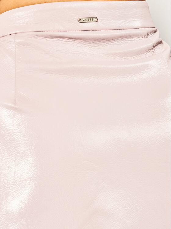 Guess Guess Jupe trapèze Halah W01D20 WCKC0 Rose Regular Fit