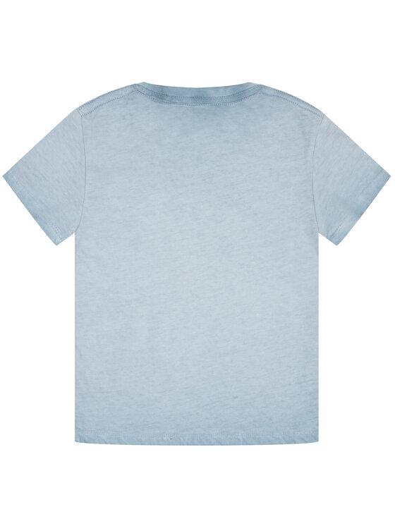 Pepe Jeans Pepe Jeans Tricou Taylor PB502716 Albastru Regular Fit