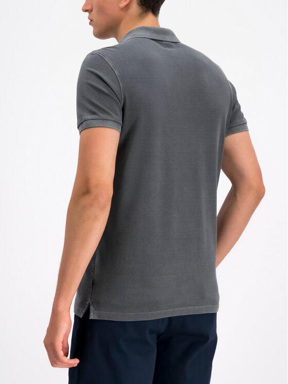 Joop! Jeans Joop! Jeans Polokošeľa 30016355 Sivá Slim Fit