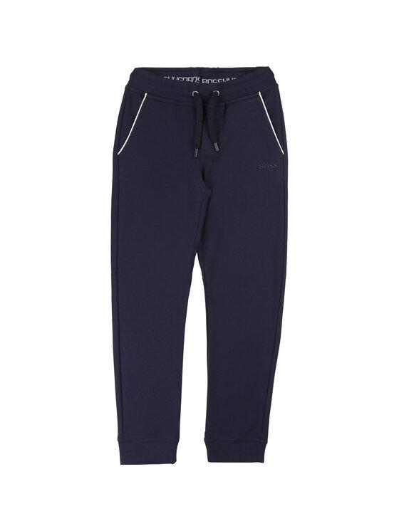 Boss Boss Teplákové kalhoty J24P02 S Tmavomodrá Regular Fit