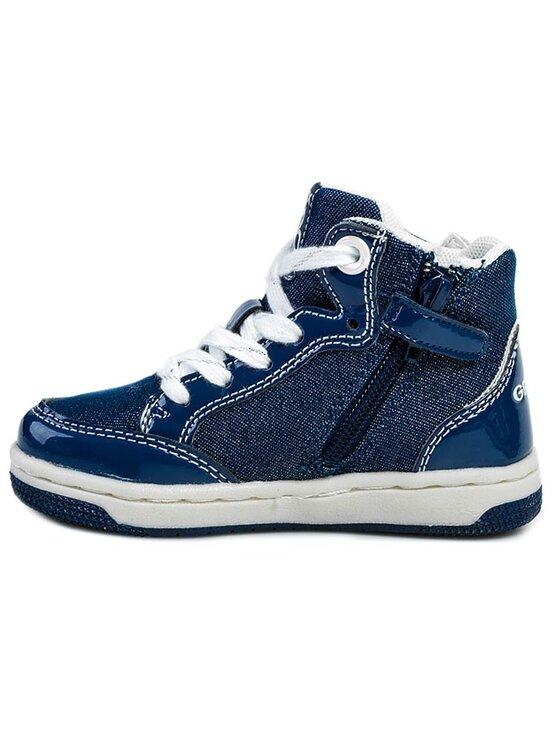 Geox Geox Schnürschuhe J Creamy C J42L5C 0ASHH C4005 Blau