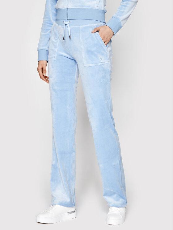 Juicy Couture Sportinės kelnės Del Ray JCAP180 Mėlyna Regular Fit