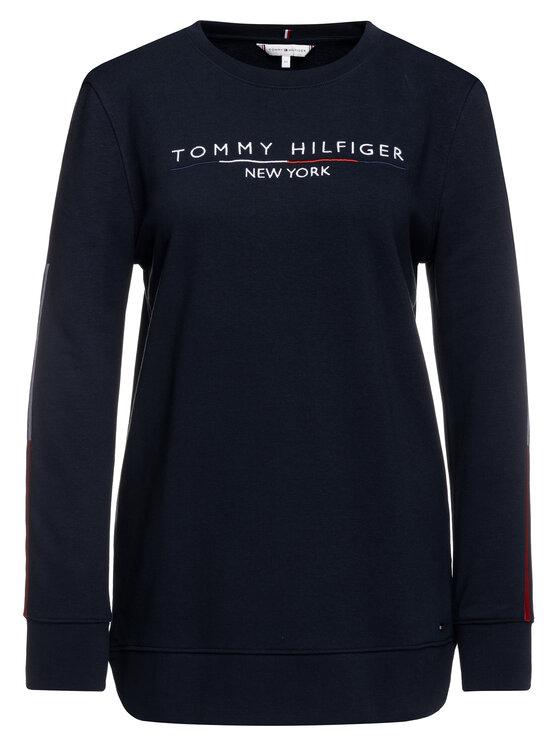 Tommy Hilfiger Tommy Hilfiger Felpa WW0WW25164 Blu scuro Loose Fit