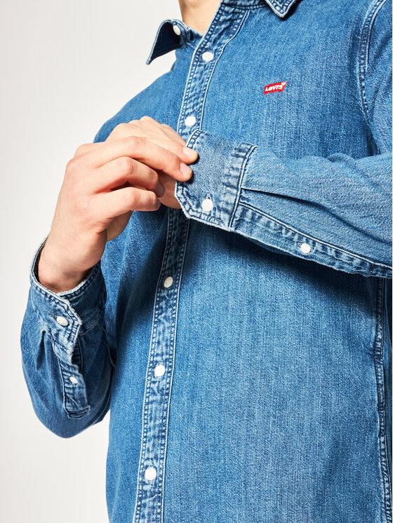 Levi's® Levi's Marškiniai Long Sleeved 86625-0004 Tamsiai mėlyna Slim Fit